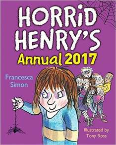 Horrid Henry Annual 2017 99p (Prime) @ Amazon (£2.98 For Non Prime)