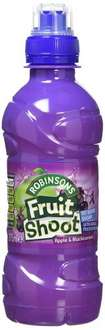 Fruit Shoot Apple and Blackcurrant Soft Drink 275 ml (Pack of 24) @ Amazon S&S 45% £4.53 or £5.36 with 35% off.