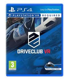 Driveclub VR £14.86 ShopTo.net or £14.99 Amazon Prime. Both in stock now. Free delivery with both