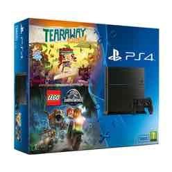 PS4 500GB w/ Tearaway Unfolded + Lego Jurassic World - £179.99 @ GAME