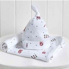 Baby Blanket and Hat Set now £11.40 free Del with code @ The White Company