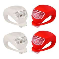 Set of 4 Multipurpose Bike Stroller High Vis Water Resistant Lights Batteries Included £9.99 Prime / £13.98 Non Prime Sold by (eFlyera Direct and Fulfilled by Amazon)