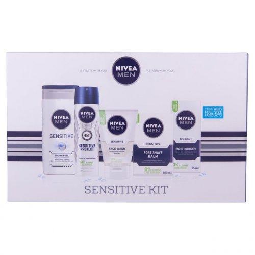 Nivea Men Sensitive Kit Gift Set  5 per pack - £3 @ Morrisons