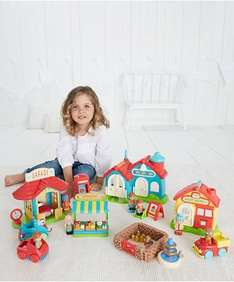 More reductions now upto 60% off eg Happyland Bumper Village set was £100 now £40, My first Tonka light & sounds fire engine was £54.99 now £24.99 @ Early Learning Centre
