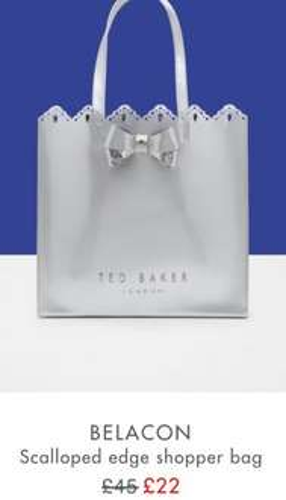 Ted baker shopper bag £22 *SALE*