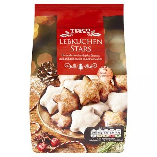 Lebkuchen Stars (mini cakes) from Whitley Bay Sainsbury's .. 10p