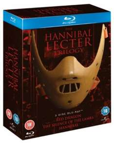 The Hannibal Lecter Trilogy (Blu-Ray) £4.58 Delivered (Using Code) @ Zoom