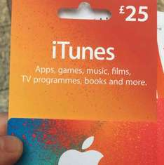10% off ITunes Cards in Boots - Instore