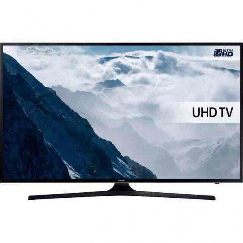 "Samsung UE55KU6000 55"" Smart 4K Ultra HD with HDR TV - Black. AO.com"