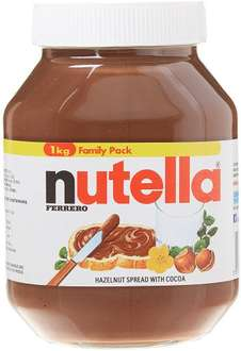 Nutella 1KG Jar £2.50 using the Amazon Prime Now app