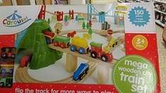 Carousel Super Train and City Set 100 Pieces £6.60 Instore Cleethorpes Tesco