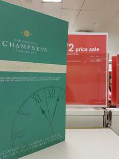 Champneys Spa treatment time 50% off £25 @ Boots