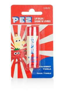 Pez strawberry vanilla flavoured Lip Balm Stick reduced from £2.50 to £1.00 at Topshop and free delivery to store