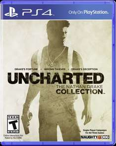 Uncharted Nathan Drake Collection - PS4 now only £20.99 @ Argos