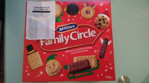 McVitie's Family Circle 720g 27p - Sainsbury's