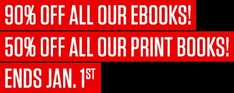 90% off ALL ebooks and 50% off ALL print books @ Verso Books