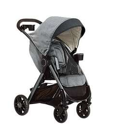 Graco fast action fold DLX travel system with car seat, base, pram & raincover in dove grey fab reviews was £329.99 now £164.99 Half price @ Mothercare