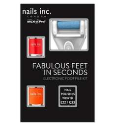 Micropedi with 2 nail inc nail varnish was £30 now £9 with code @ Boots