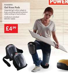 Powerfix Gel Knee Pads £4.99 in Lidl from 8th January