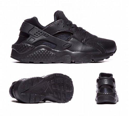 Nike Huarache Trainers Black, Size 3-6 In Stock! Foot Asylum £44.99