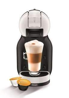 Nescafe EDG305.WB Dolce Gusto Mini Me Coffee Capsule Machine by De'Longhi - Black and White- 2 years Guarantee- Lightning deal
