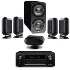 Denon AVR-X2300W AV Receiver and Q Acoustics Q7000i Plus 5.1 Speakers and cables under £1000 @ Peter Tyson