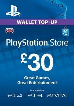 Fifa 17 £26.58 PS4 digital download using £30 Wallet Top Up @ CD Keys & buying Fifa 17 from PSN