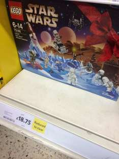 Lego Star Wars Advent Calendar 75146 at Tesco instore for £18.49