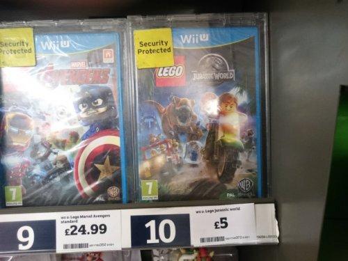 Lego Jurassic World Wii U - £5 at Sainsburys