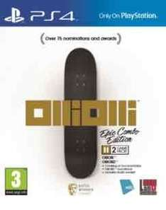 OlliOlli Epic Combo Edition PS4 £8 at Game Cwmbran Instore