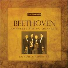 Very good value Complete Beethoven String Quartets box set download at Google Play Music - £7.99