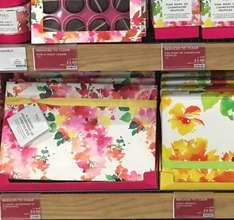 M&S 1/2 price Spring-themed chocolate gifts - champagne truffles, sea salt caramels etc...