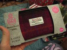 Sainsbury's Harris Tweed Ladies Purse Half Price instore - £7