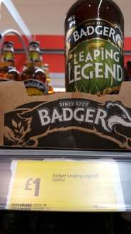 Badger Leaping Legend £1 in store @ morrisons