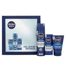 Nivea for men shave gift set reduced to £2.12 in tesco colchester