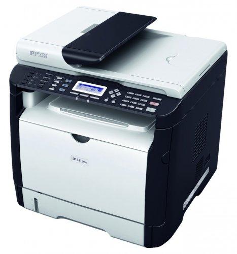 Ricoh SP 311SFN 28PPM A4 Mono Laser MFD Printer £110.82 @ Amazon