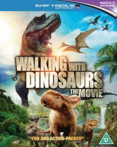 Walking With Dinosaurs (Includes UltraViolet Copy) Blu-ray was £27.99 @Zavvi