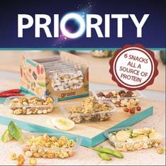 6 Graze snacks for 99p delivered with o2 priority normally £7.99
