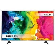 "LG 65UH615V LED HDR 4K Ultra HD Smart TV, 65"" with Freeview HD & Metallic Design  £999 - John Lewis"
