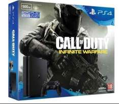 Playstation 4 (PS4) - new model, with Call of Duty Infinite Warfare £199.99 at Hughes Direct