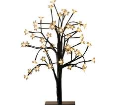 Home 48 LED cherry blossom table lamp was £24.99 now £12.49 Half price @ Argos