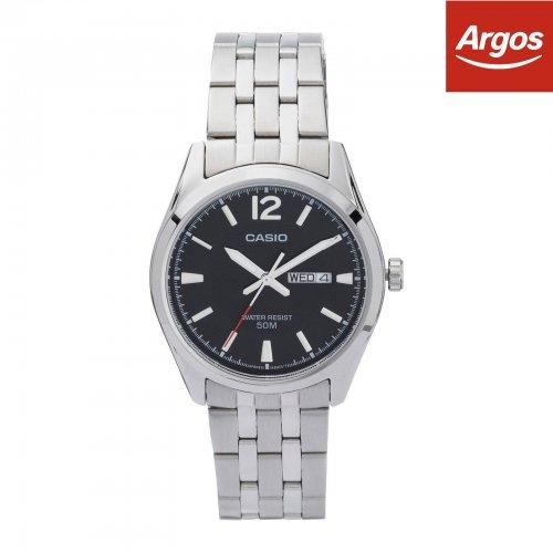 Casio Men's Stainless Steel Day/Date Quartz Watch £16.99 @ Argos on Ebay