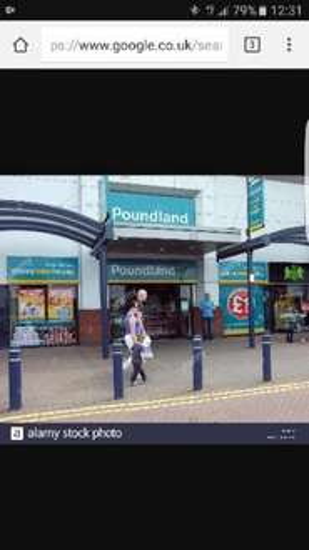 10m wrapping paper 10p @ Poundland Bolton