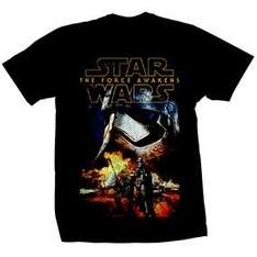 Star Wars official The Force Awakens Tshirt at Forbidden Planet for £2.99 plus £1 delivery
