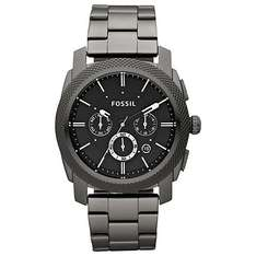Fossil Men's Machine Chronograph Bracelet Strap Watch (Black) reduced to £66.15 @ Amazon **Cheapest**