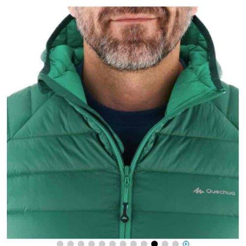 Full Duck Down quechua Jacket Men's Green S-3XL or Purple Ladies XS-M/L was £40 now £21.99 @ Decathlon