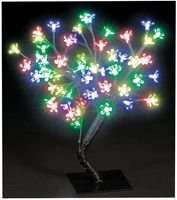 45cm 48 LED cherry tree £6.60 inc delivery @ CPC Farnell. Other colours available.