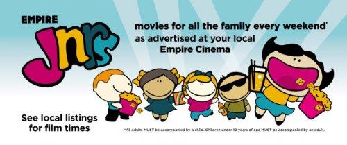 Movies for Juniors New Season only £1.50 pp (Trolls / Storks / BFG / Pete's Dragon / Kubo & The Two Strings / Ballerina  & More) @ Empire Cinemas