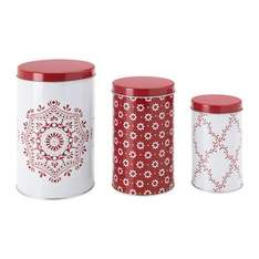 Ikea Vinter Food Storage Tins, Set of 3@1.80 GBP down from 6 quid