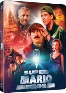 Super Mario Bros movie steel book limited edition pre-order £15.99 @ Zavvi
